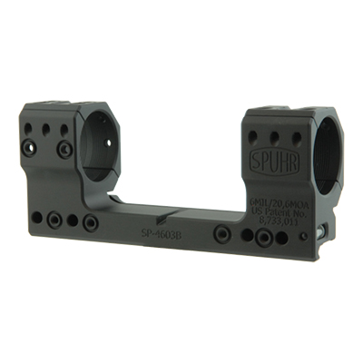 Spuhr Unimounts 34 mm, Height: 38 mm/1,5?, Length: 147 mm/5,79? 6 MIL/ 20.6 MOA SP-4603B