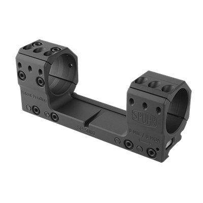 "Spuhr Unimounts 35mm, Height: 30mm/1.18"", Length: 139mm/5.47"" 0 MIL/0 MOA SP-5001"