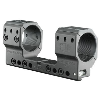Spuhr Unimounts 34 mm TRG, Height: 35 mm/1 .38?, Length: 121 mm/4.76? 7 MIL/24 MOA ST-4701