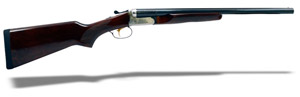 "Stoeger Coach Gun Supreme (ST-EXT) 20"" 20ga SxS, AA-Grade gloss walnut, blue/stainless receiver 31462"