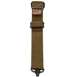 TAB Rifle Sling with Flush Cups - Coyote Tan
