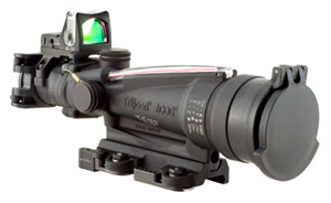 Trijicon ACOG® 3.5x35 Dual Illum. Red Horseshoe/Dot TA11SDO-CP