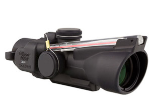 Trijicon 3x24 Low Compact ACOG Illum Red Horseshoe Ballistic 400232