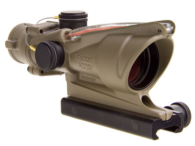 Trijicon ACOG 4x32 Red Chevron FDE TA31-D-100310