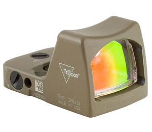 Trijicon RMR LED FDE Red Dot Sight RM02-C-700123