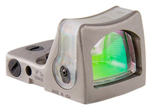 Trijicon RMR Dual Illuminated Nickel Amber Dot Sight RM04-C-700064