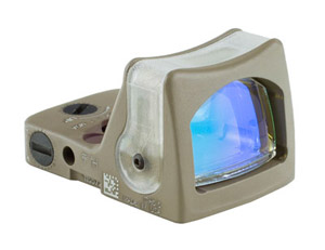 Trijicon RMR Dual Illuminated FDE Amber Dot Sight RM03-C-700144