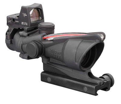 Trijicon ACOG 4x32 .223 Red Chevron - RMR - TA31F-RMR