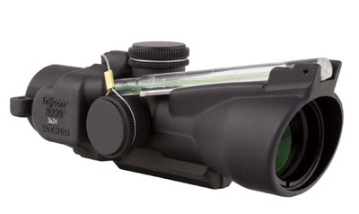 Trijicon 3x24 Low Compact ACOG Dual Illuminated Green Horseshoe Ballistic Reticle TA50-C-400234 TA50-C-400234Trijicon 3x24 Low Compact ACOG Illum Green HS Ballistic 400234