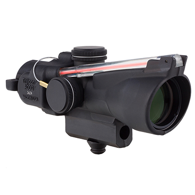 Trijicon 3x24 Compact ACOG Illum Red Horseshoe Ballistic 400226