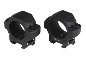US Optics 34mm P6M-Low Windage Adjustable Rings