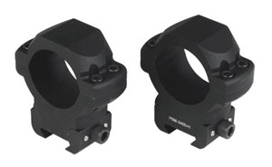 US Optics 34mm P6M-High Windage Adjustable Rings