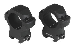 US Optics 34mm P6M-X-High Windage Adjustable Rings