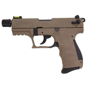 "Walther P22 .22lr 3.4"" Tactical 5120353"