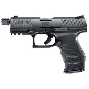 "Walther PPQ Tactical .22lr 4"" 12rd 5100301"