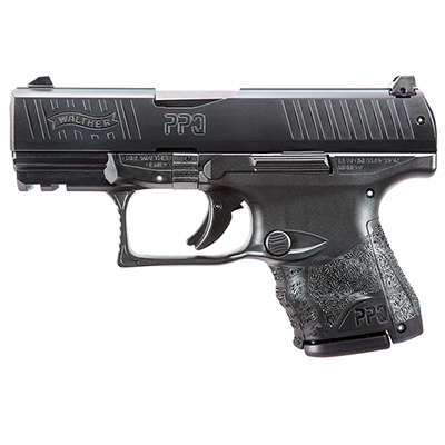 Walther PPQ M2 SC 9mm Black 10/15 round Pistol w/ 2 Mags 2815249