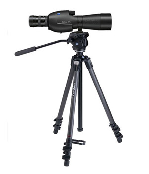 DiaScope 65 T* FL  Straight Spotting Scope, variable 15-56, carbon tripod 1787881