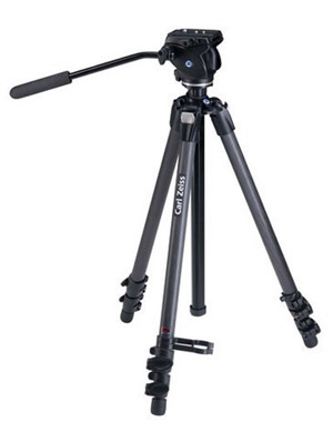 Zeiss Full size Manfrotto Carbon Tripod with Fluid Head 17 93 996 Like new Demo 17 93 996