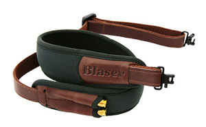 Blaser Green Rifle Sling with European swivels