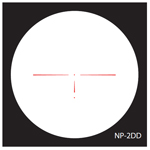 Nightforce NP2-DD Reticle